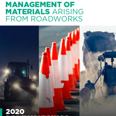 New 2020 Guidance Document: Management of Materials Arising from Roadworks
